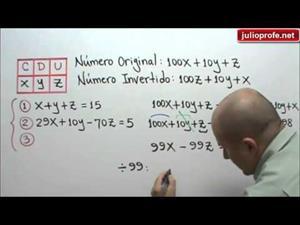 Problema con un Sistema de 3x3 (JulioProfe)