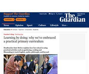 Aprender haciendo: el caso de una escuela británica