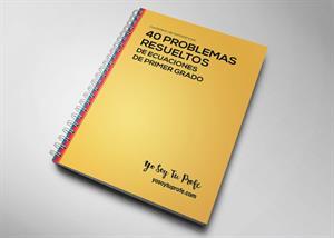 40 problemas de ecuaciones de primer grado resueltos #YSTP