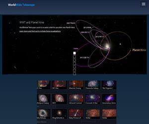 Comparar la topografía de la tierra y Marte con Microsoft WorldWide Telescope