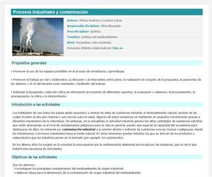 Procesos industriales y contaminación