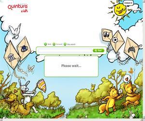 Quintura for Kids: un buscador para niños (en inglés)