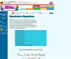 Red Venezolana de Educación:  Física (electrícidad y magnetismo)