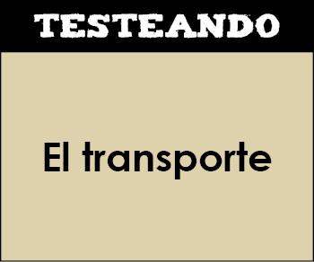 El transporte. 3º Primaria - Inglés (Testeando)