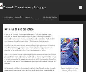Noticias de uso didáctico (Centro de Comunicación y Pedagogía)