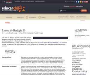 La ruta de Beringia 10 (Educarchile)