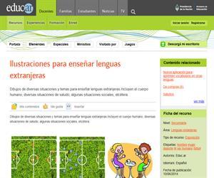 Ilustraciones para enseñar lenguas extranjeras
