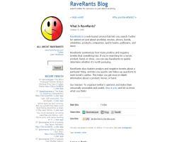 RaveRants, buscando sentimientos y opiniones