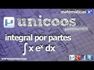 Integral por partes xe^x