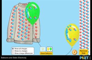 Ballons und statische Elektrizität