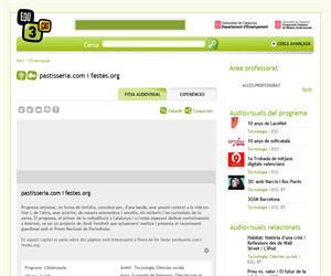 pastisseria.com i festes.org (Edu3.cat)