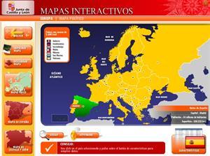 Mapas interactivos de la Junta de Castilla y León