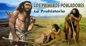 Etapas históricas. La prehistoria