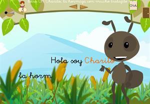 """Letra """"ch"""". Charito, la hormiga con mucho trabajito. Proyecto Medusa"""