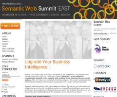 Semantic Web Summit East - Boston (mediabistro.com)