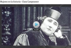Mujeres en la historia: Clara Campoamor (RTVE.es)