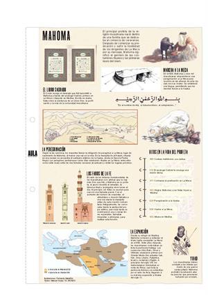 Mahoma. Láminas de El Mundo
