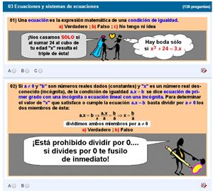 Ecuaciones y sistemas de ecuaciones (La pizarra de Fonemato)