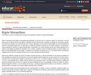 13ava Región El Plomo (Educarchile)