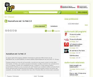 Musicalliure.net i la Web 2.0 (Edu3.cat)