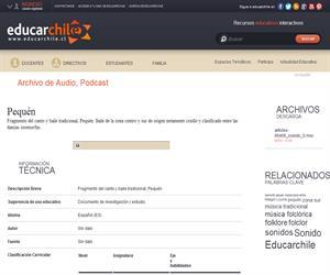Pequén (Educarchile)