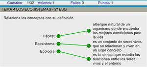 Los ecosistemas (actividades)