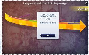 Les grandes dates: le Moyen-Âge (Niveau Junior). Jeux historiques