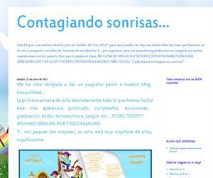 Contagiando Sonrisas (Blog de Infantil del CEIP Juan Yagüe)