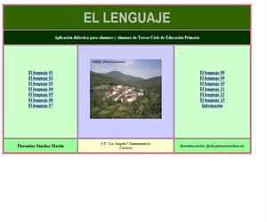 El lenguaje. Aplicación didáctica