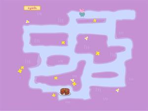 Dentro del laberinto con la Familia Pig, un juego para niños
