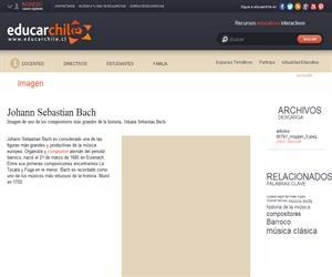 Johann Sebastian Bach (Educarchile)
