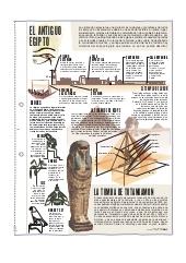 El Antiguo Egipto. Láminas de El Mundo