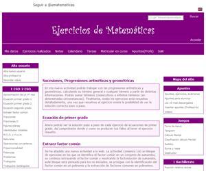 e-matematicas.net. Matemáticas para Secundaria y Bachiller