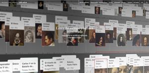 Educación aumentada en el Museo del Prado: Línea del tiempo y lectura aumentada