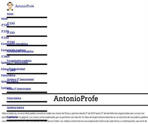 Física y química con AntonioProfe