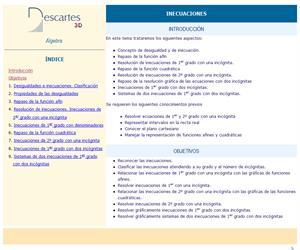 Inecuaciones (Descartes)