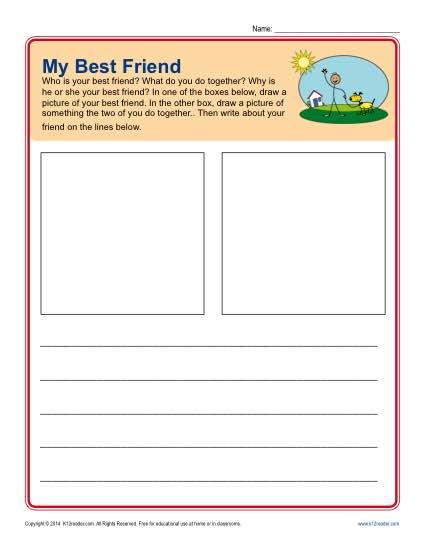 Writing Prompt – My Best Friend