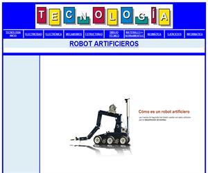 ROBOT ARTIFICIEROS