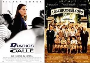 """Los profesores los protagonistas:  """"Los chicos del coro"""" y """" Diarios de la Calle"""". Motivación e incentivación"""