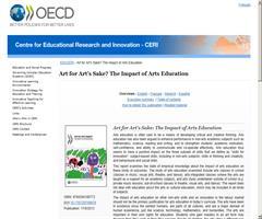 Art for Art's Sake? The Impact of Arts Education