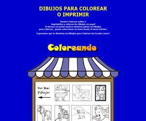 Dibujos para colorear online (Ed. Infantil)