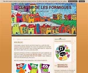 Classe de les formigues (Blog Educativo de Educación Infantil)