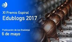 Próxima fecha de Edublogs 2017 a tener en cuenta: Publicación de Finalistas