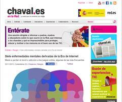 Siete enfermedades mentales derivadas de la Era de Internet (Chaval.es)
