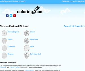 Coloringcom Dibujos Para Colorear On Line Para Infantil En Inglés