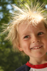 Does Hair Color Affect Static Electricity?