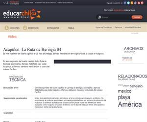 Acapulco. La Ruta de Beringia 04 (Educarchile)