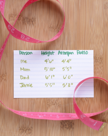Are Armspan and Height Genetically Determined?