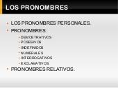 Pronombres