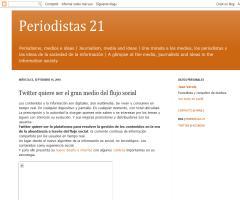 Twitter quiere ser el gran medio del flujo social (Periodistas21)